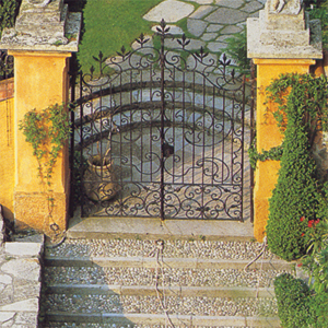 Gate of an Italian Estate